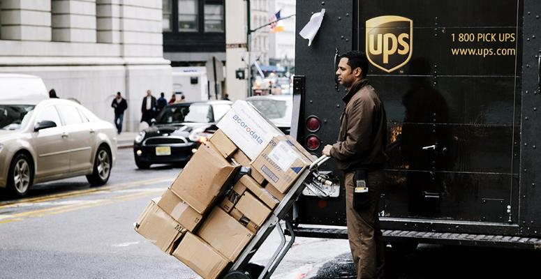 UPS Brown Friday hiring event