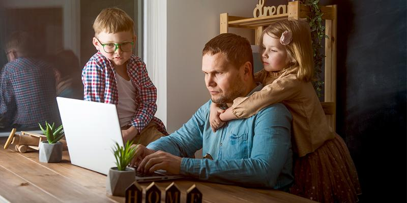 Balancing your child(ren) and work or job search during COVID