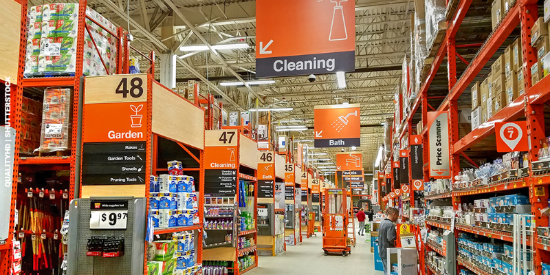 Popular positions at The Home Depot