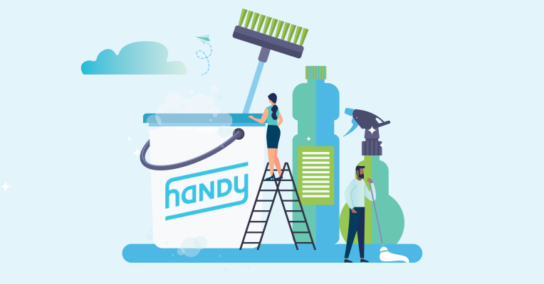 Working at Handy