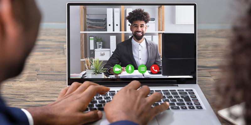 Before, during and after a virtual hiring event