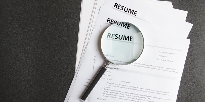 3 resume examples that will land you a job in 2021